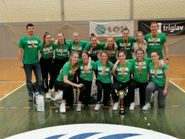 Ilirijankam bron v državnem prvenstvu U19
