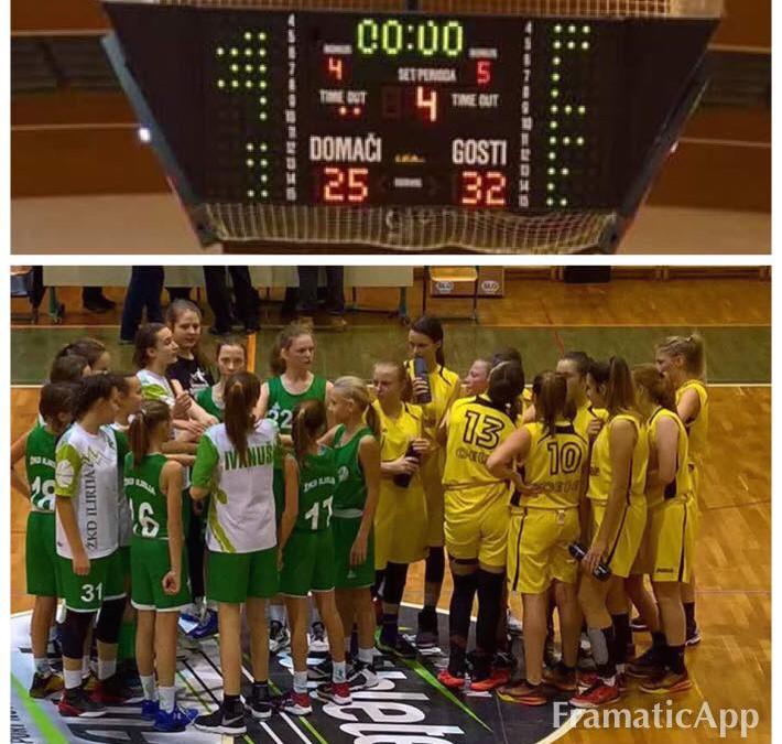 Ilirjanke zmagale v Celju na prvi polfinalni tekmi mini pokala