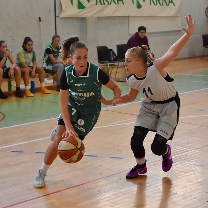Tara Pulević podaj žogo