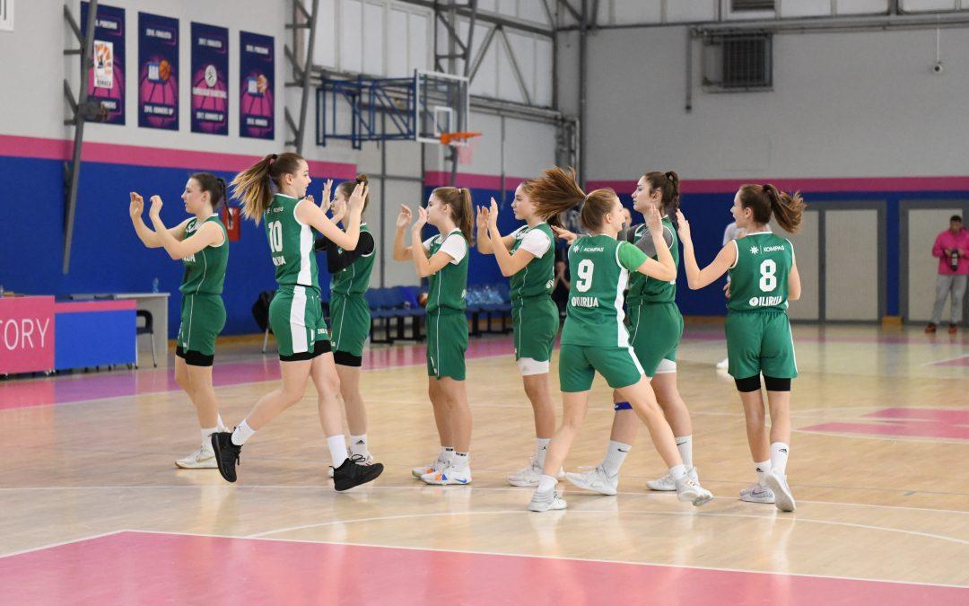 U17A v Beogradu končale z nastopi v WABA ligi, Manca Vrečer MVP sezone
